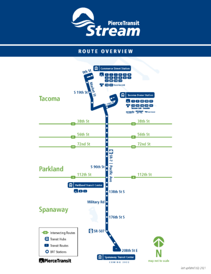 Pierce Transit BRT 1