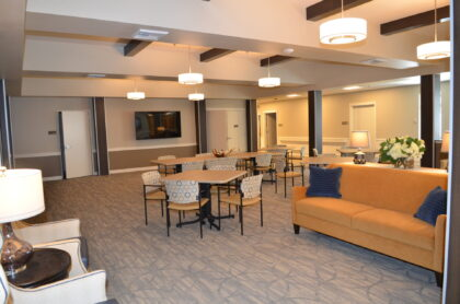 New care facility provides a home-like feel and sustainable environment