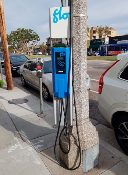 Streetside Electric Vehicle Chargers 1
